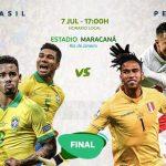 BBrasil y Perú van por el título de campeón en la Copa América 2019