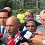 Roy Barreras junto algunos congresistas de la Comisión de Paz