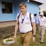 Arribo del Consejo de Seguridad de la ONU y el Jefe de la Misión Colombia al ETCR de Caldono Cauca, Foto: MisiónONU Colombia