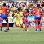 Campeón de América femenino debutó con empate 1-1 ante Pasto (2)