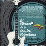 Invitación Grandes Especiales Musicales. Clásicos de la Música Colombiana. Sabado 20 de Julio de 2019. Colmundo Radio