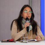 Viceministra de Promoción de la Justicia, Juanita López Patrón