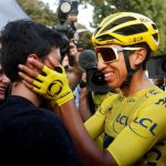 Egan Bernal y su Hermano Ronald,