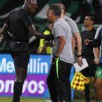 El técnico de Nacional fue expulsado en el partido contra Santa Fe de la Copa Águila.