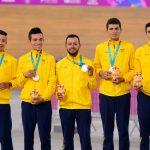 Plata y bronce para Colombia en el ciclismo de pista de Lima 2019