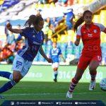 Millonarios y Santa Fe empataron 1-1 en los cuartos de final de la Liga Águila Femenina.