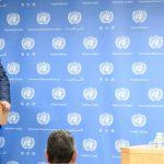 El portavoz de la ONU, Stéphane Dujarric.