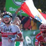 Tadej Pogacar conquistó la etapa 13 de La Vuelta