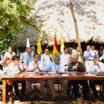 Firma del pacto por la Amazonía