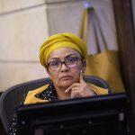 senadora Victoria Sandino del partido FARC