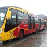 buses biarticulados a TransMilenio