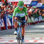 Nairo Quintana segundo en la general de la vuelta a España