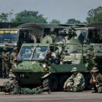 Ejercicios militares de Maduro en zona fronteriza con Colombia