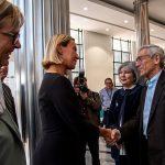 La Comisión de la Verdad recibió a la Alta Representante de la Unión Europea, Federica Mogherini,