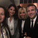 Brigitte Macron y Marta Lucía Ramírez