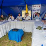 El Presidente Iván Duque visitó este miércoles el antiguo Espacio Territorial de Capacitación y Reincorporación (ETCR) de Miravalle, en San Vicente del Caguán (Caquetá), donde revisó los avances en proyectos productivos.