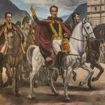 Bogotá conmemora la entrada triunfal de Bolívar y su ejército a Santafé hace 200 años