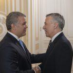 Embajador Philip Goldberg presentó credenciales al Presidente Iván Duque Márquez