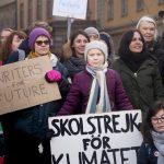 Activista sueca de 16 años Greta Thunberg