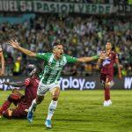 Nacional venció 1-0 al Tolima