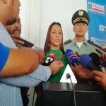 Delegada para la Seguridad Ciudadana de la Fiscalía, Claudia Carrasquilla, desmintió que el órgano de acusación haya expedido órdenes de captura en contra de las personas que aparecen en los videos que registran la fuga de la excongresista Aida Merlano, en Bogotá.