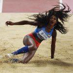 Caterine Ibargüen ganó bronce en el Mundial de Atletismo
