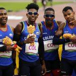 El relevo 4×400 del atletismo colombiano clasificó a Tokio-2020