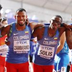 Los 4 fantásticos se ubicaron en el cuarto puesto, tras obtener un tiempo de 2:59.50 en la prueba 4x400 mts, del Mundial de Atletismo Doha 2019. El equipo conformado por Alejandro Perlaza, Diego Paloqueme, Alexander Solís y Anthony  Zambrano lograron un nuevo récord nacional.