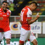 Independiente Santa Fe logró su séptima victoria en la Liga goleando 0-3 a la Equidad