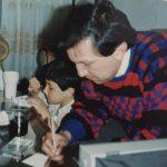 Orlando Villar Jiménez con su hijo Orlando Villar Forero