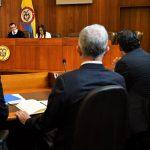El Senador Alvaro Uribe ante la Corte Suprema De Justicia
