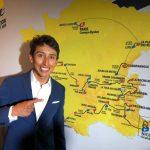 Egan Bernal, vigente ganador del Tour de Francia, acudió a la presentación del recorrido de la edición 2020.