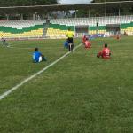Protesta de Jugadores Profesionales del fútbol colombiano