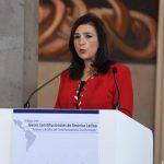 Gloria Ortiz Presidenta de la Corte Constitucional, en Diálogos entre Jueces Constitucionales en América Latina
