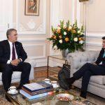 Presidente Duque con la Alcaldesa de Bogotá Claudia López 2019-10-29 at 4.52.45 PM
