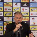 Director Técnico Carlos Queiroz entregó la lista de convocados para los juegos amistosos ante Perú y Ecuador el 15 y 19 de noviembre