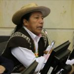 Senador Feliciano Valencia Denuncia