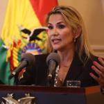 Janine Añez, presidenta interina de Bolivia