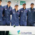 Equipo Colombia Colsanitas tendrá su primera presentación en la Davis Cup