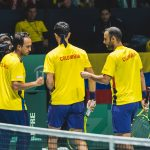 Pablo González, Robert Farah y Juan Sebastián CabalDavis Madrid