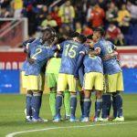 primer tiempo del partido ante Ecuador que se disputa en New Jersey. (1)