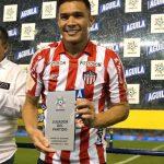 Teo Gutiérrez fue escogido como la figura del partido Junior FC 2-0 Atlético Nacional