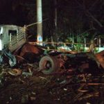 Ataque con cilindros a estación de Policía en Santander de Quilichao - Foto suministrada