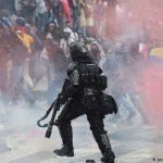 Vandalismo en protestas