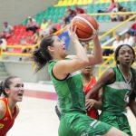 Baloncesto femenino. Antioquia Vs Bogotá