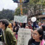 Marchas en Colombia en el sexto día de paro