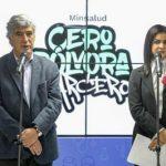 'Porque te quiero y me quiero, porque te cuido y me cuidascero pólvora parcero Con este nombre, Juan Pablo Uribe Restrepo, ministro de Salud y Protección Socia