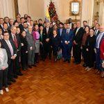 El Presidente Iván Duque Márquez presentó este jueves en la Casa de Nariño el Acuerdo de Escazú, firmado por Colombia, y dijo que esta herramienta de protección del medio ambiente une a diversos sectores de la nación.