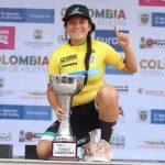 Elizabeth Castaño se impuso en la CRI y es la nueva campeona de la Vuelta del Futuro