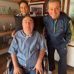 Profe Luis fernando montoya, Su esposa y e4l Periodistta Esteban Jaramillo